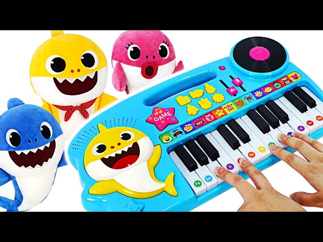 Join the Music contest on Shark's Family Piano with Baby Shark & Pinkfong!   PinkyPopTOY