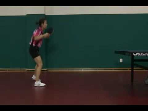 Park Mi Young Chop Backhand Sequence 2