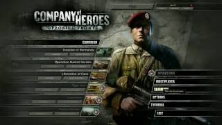 Company Of Heroes Opposing Fronts Gameplay - Hinderdam Skirmish