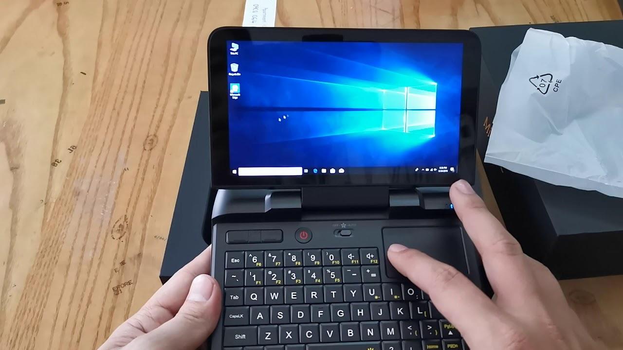 Laptop bỏ túi,máy tính bảng tablet windows, Mini PC GPD Micro (Chip 4 nhân, DDR 4 8G, SSD M2 128G)