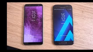 Samsung Galaxy J6 vs Galaxy A5 2017 - Speed Test!