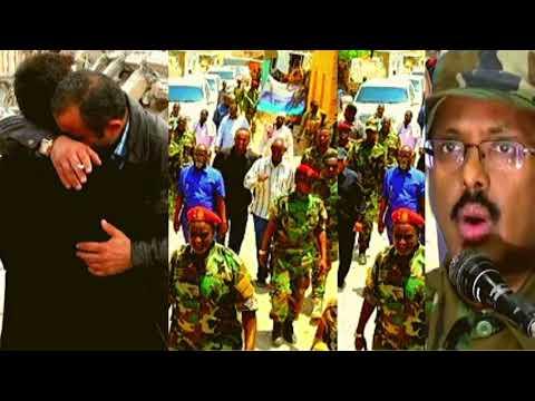 DEG DEG: Farmajo Bilabay Dagal Ka Dhan Ah Jubaland Iyo Ciidanka Oo