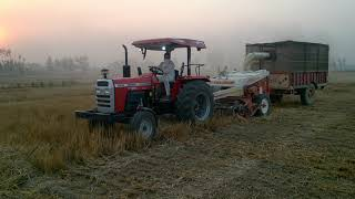 Massey 9500 Straw Reaper de fatte chakda