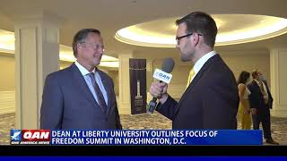 Dean at Liberty University outlines focus of Freedom Summit in D.C.
