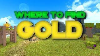 Roblox | Booga Booga - WHERE TO FIND GOLD!? [New HIDDEN Ore!]
