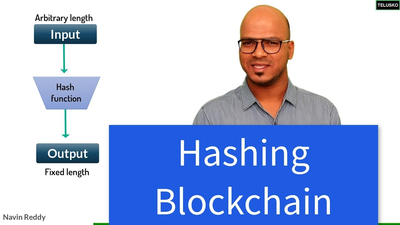 Hashing in Blockchain
