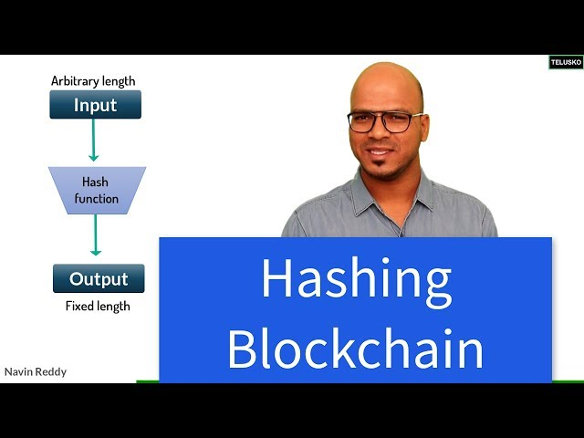 Hashing in Blockchain