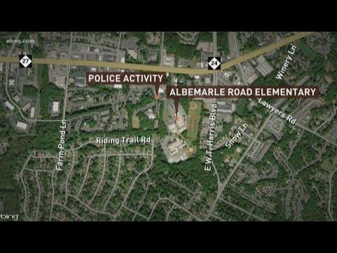 Lock-down lifted at Albemarle Road Elementary School