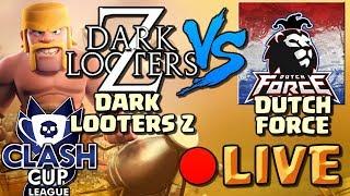 Dark Looters Z vs Dutch Force | Clash Cup League FINAL | Clash of Clans