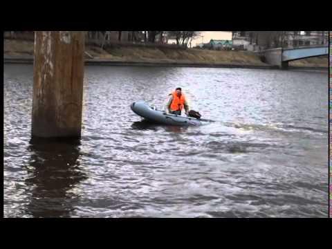 тест лодки ПВХ Хантер 240