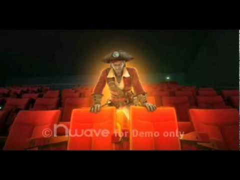 Runhau.vn - Phim 4D tại Trung tâm văn hóa kim đồng - Cướp biển