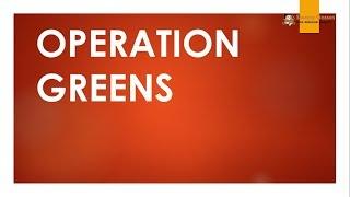 TTL -  SCHEMES 9 - OPERATION GREENS- GS Batch 2019 || Civil Services || UPSC || IAS