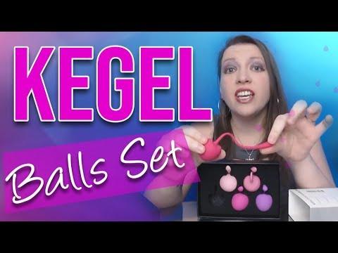 Vaginal Tightening using Cherry Kegel Balls Set