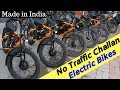 No Challan Electric Bike Launched in India - Mantis Full Review
