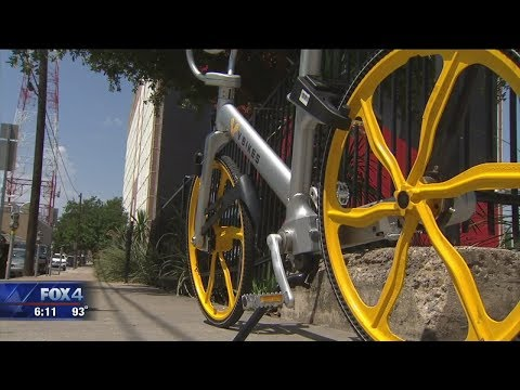 New bike share program in Dallas