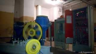 Быстроходный лифт 630 кг 1.6 м/с / High-speed elevator(Грузопассажирский лифт грузоподъемностью 630 кг и скоростью 1.6 м/с, глубокая кабина (