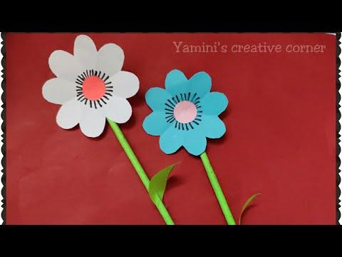 #44:-very-easy-diy-paper-flower-making-for-kids-||diy-crafts-for-kids-||