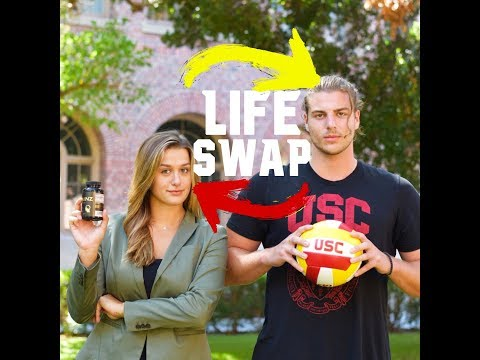 D1 ATHLETE vs. FORBES ENTREPRENEUR (USC LIFE SWAP)