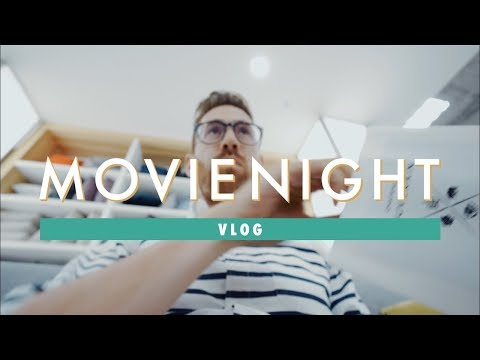 Vlog: Movie Night in Calgary