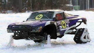 По снегу на заднем приводе, реально?