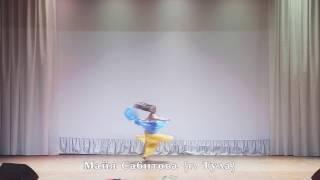 Maya Sabitova. Майя Сабитова. Megance And Fusion Drum Solo. Gala-Show In Penza