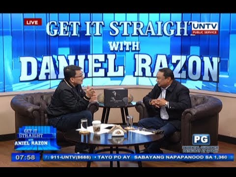 Customs Intelligence head Dir. Wilkins Villanueva on Get it Straight