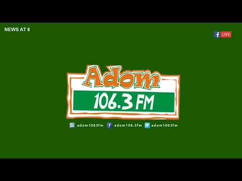 ADOM MORNING NEWS on Adom FM (12-6-18)