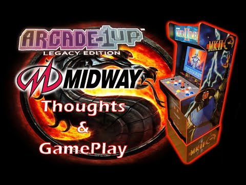 Arcade1up Midway Legacy cabinet Thoughts and Gameplay!!! from MadDadsGaming
