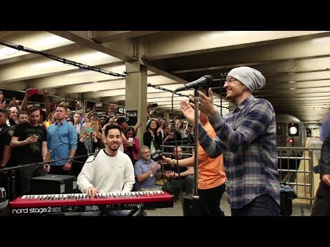Linkin Park LIVE in Grand Central Station