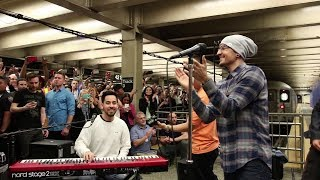 Linkin Park LIVE in Grand Central Station (full)