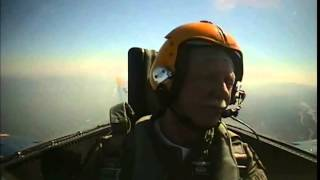 "Captain Chesley ""Sully"" Sullenberger Flies with the Blue Angels"