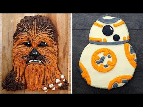 11 Stunning Star Wars Cakes and Crafts