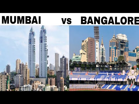 BANGALORE vs MUMBAI Full View Comparison (2018) |Plenty Facts|Bangalore City vs Mumbai City |Mumbai