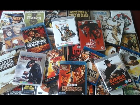 My Spaghetti Western Collection So Far...