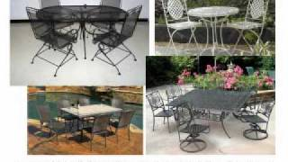 Metal Patio Furniture Sets