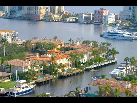 Fort Lauderdale, Florida. Water Canal Tour