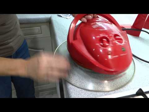 How to clean the Halogen oven, Jan shows you how.