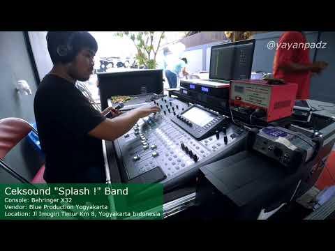Cek Sound test lagu sayang pake Mixer Digital Behringer x32