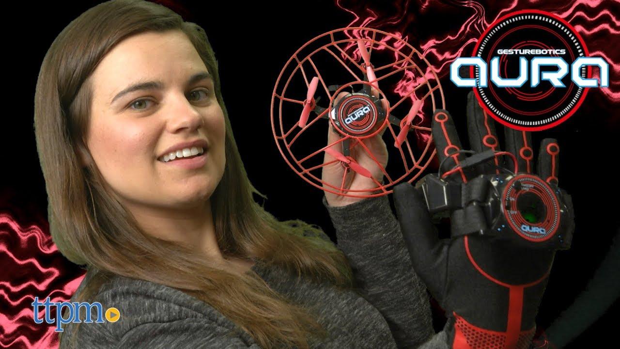 Gesturebotics Aura Telekinetic Drone With Glove Controller from Kidz Delight