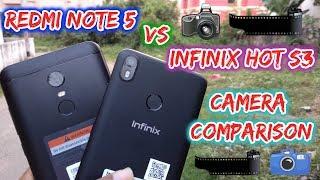 Redmi Note 5 vs Infinix Hot S3 Camera Comparison (Hindi)