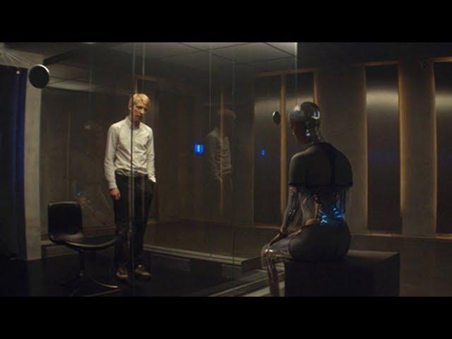【宇哥】程序员小伙被送到实验室,与女机器人共处一屋,这下出事了《机械姬》