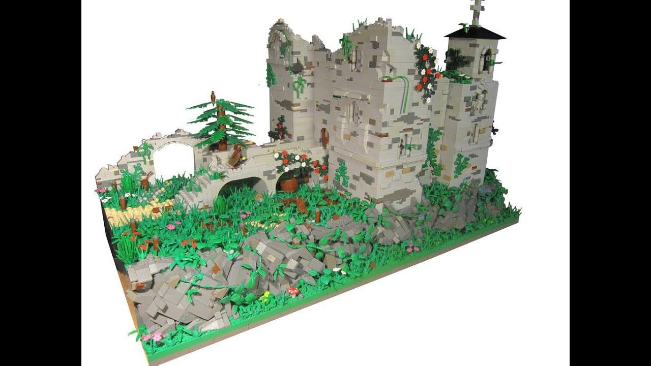 Lego Castle Moc Youtube