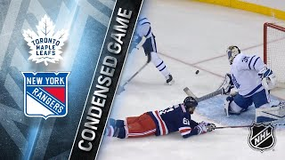 02/01/18 Condensed Game: Maple Leafs @ Rangers