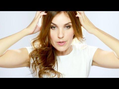 Rizos Naturales con Plancha en 10 minutos - Como Rizar el Cabello - How to Curl your Hair