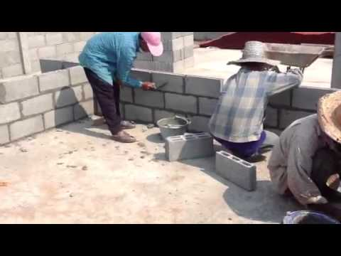 Building a low cost house in thailand youtube for Costs in building a house