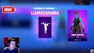 Duos Win - Item Shop Song *NEW* Llamacadabra Emote - Skins Castor & Elmira - Mounted Turret