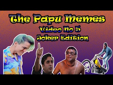 Try Not To laugh Compilation || Indian Rizxtar Joker Edition || The Papu Memes