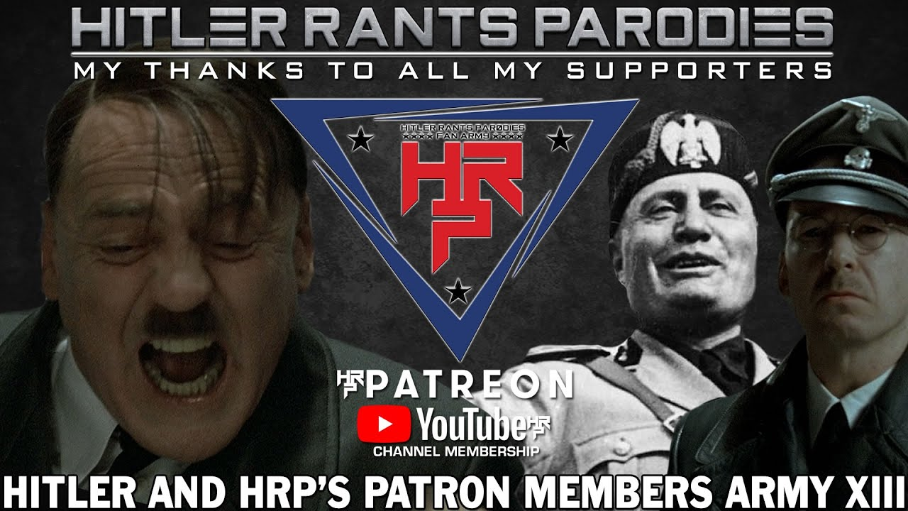 Hitler and HRP's Patron/Members Army XIII