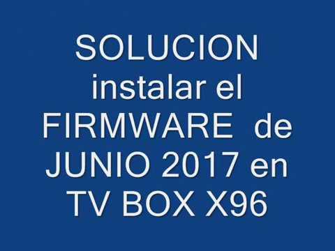 firmware x96