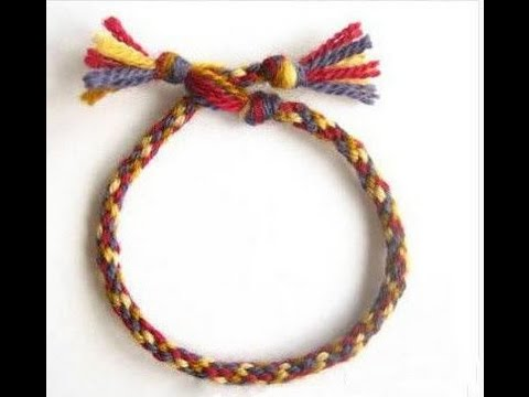 How To Make Woven Bracelets